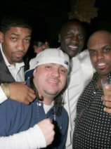 w/ Fonzworth Bentley, Akon & Ceelo